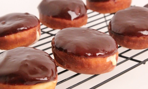 Boston Cream Donuts