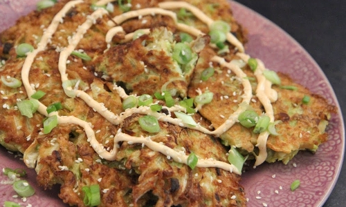 Cabbage Fritters