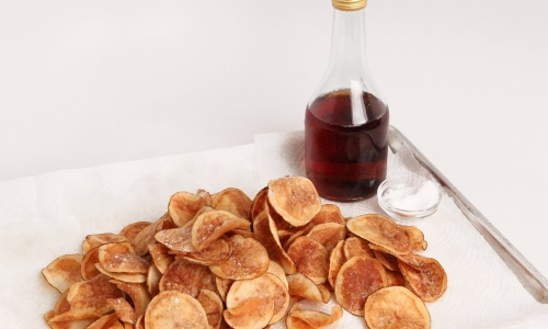 Homemade Salt and Vinegar Chips