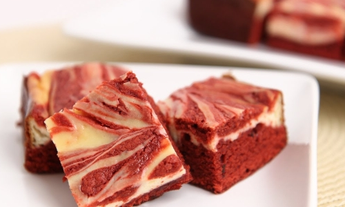 Red Velvet Cheesecake Brownies