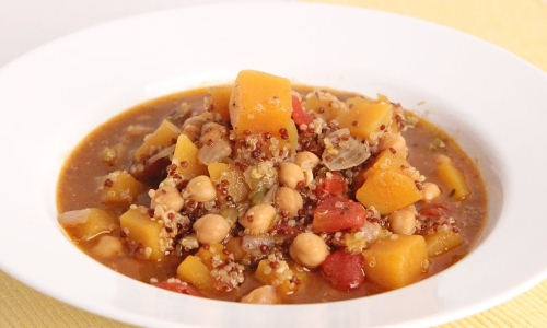 Tex Mex Butternut Squash and Quinoa Stew