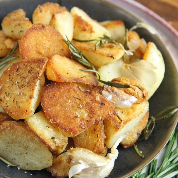 Crispiest Roasted Potatoes