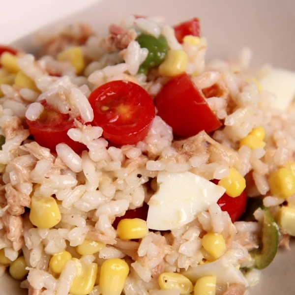 Italian Tuna and Rice Salad