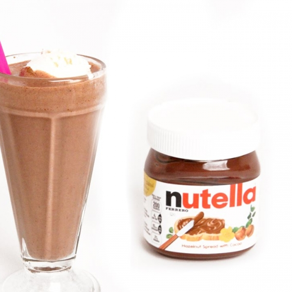 Ultimate Nutella Milkshake