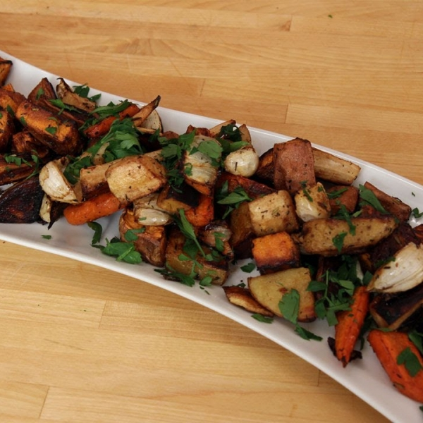 Winter Roasted Root Vegetables
